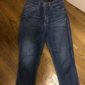 AG Mila Ankle High waisted jeans in size 28R